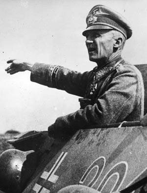 With his surprise counteroffensive, General der Panzertruppen Hasso von Manteuffel proved a worthy opponent to Patton.