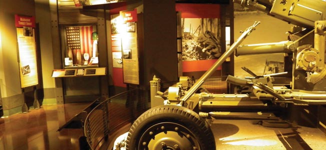 The world-class National Museum of the Pacific War recalls the conflicts vast sweep.