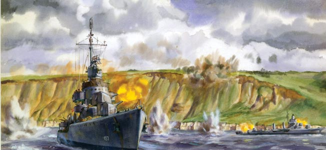The small destroyer saw action and escaped destruction from Normandy to the Philippines and even Korea and Vietnam.