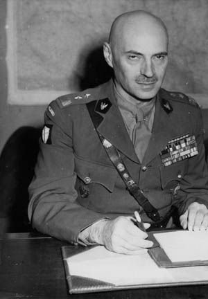 Major General Wladislaw Anders commanded the Polish II Corps from training through arduous combat during the Italian campaign and became a national hero in his native land.