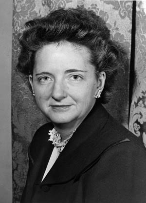 American Communist and Soviet courier Elizabeth Bentley was turned by U.S. into a double agent.
