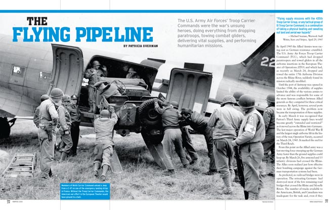 This story was published in the Winter 2018 issue of WWII Quarterly.