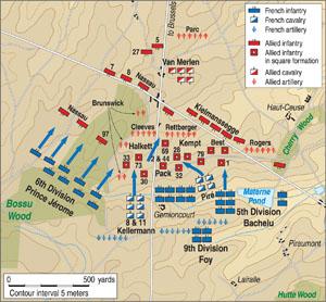 Quatre Bras MAP