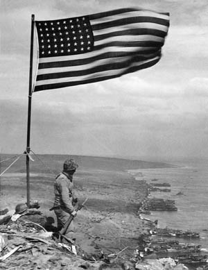 Public perception of the famed Rosenthal photo depicting marines raising the flag on Iwo Jima has evolved much since the historic image was captured.