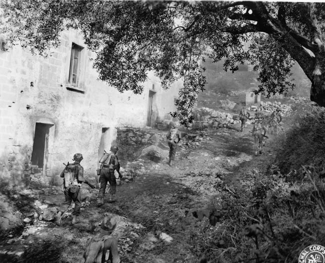 Darby's 1st, 3rd, and 4th Ranger Battalions fought in Sicily and Italy in 1943 but were wiped out at Cisterna, Italy, in early 1944.