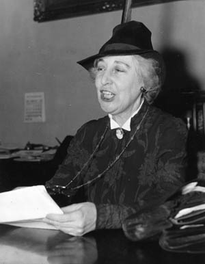 A lifelong dedicated pacifist and the first woman elected to Congress, Montana Representative Jeanette Rankin cast one of 50 votes against the U.S. entering World War I—and the only vote against World War II.