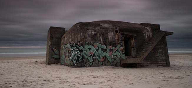 These rare photos of Adolf Hitler's Atlantic Wall are part of journalist and photographer Guiie Ferrer's new collection, 'The Bunker Sessions'.