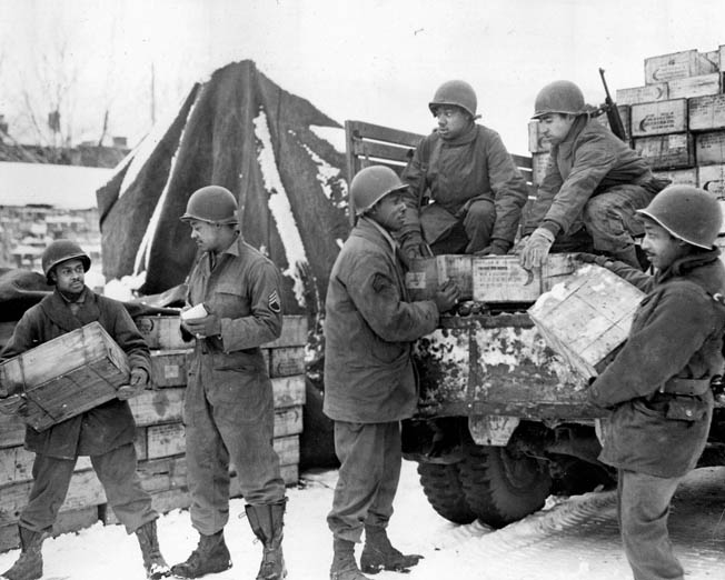 Of all the factors that helped the Allies win the war, none was more important than the unbroken flow of supplies to the front lines.