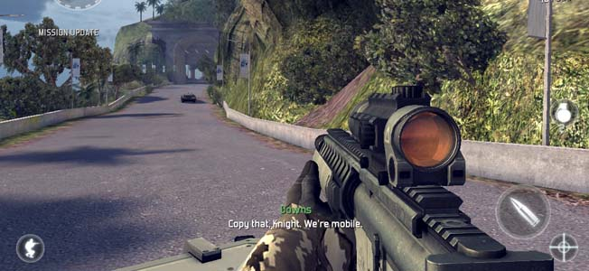 Review of Modern Combat 5 by Gameloft