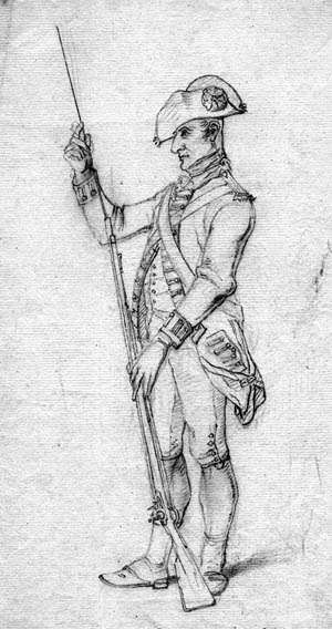 Brown Bess was the close companion of the British soldier for almost a hundred years.