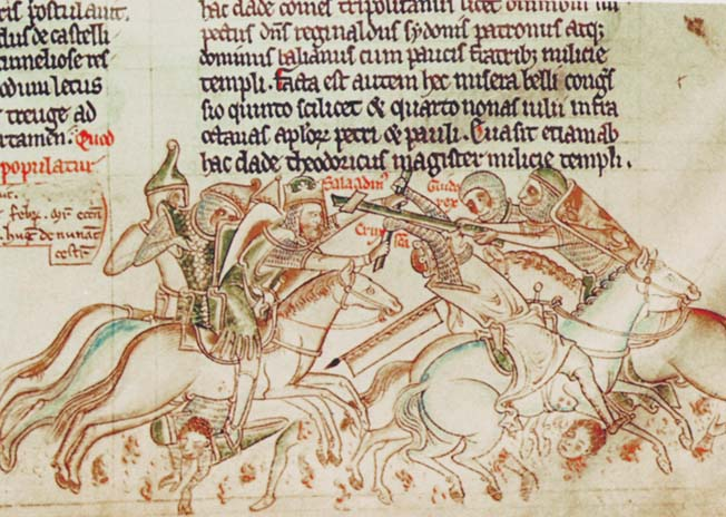 Richard the Lionheart led his Crusaders on a successful siege at Acre and a stunning victory at Arsuf in the Holy Land.