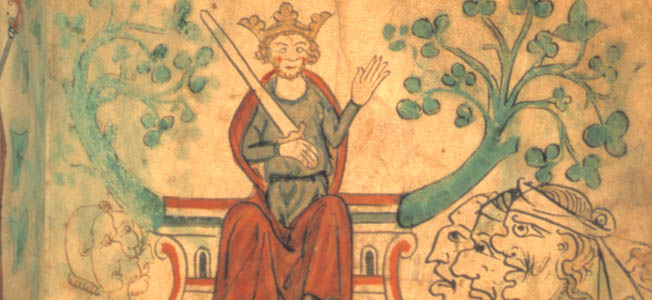Richard the Lionheart was born in England, but he was not English by blood or breeding.