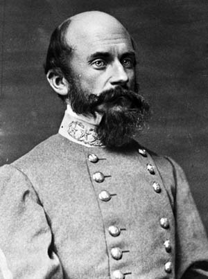 Confederate Maj. Gen. Richard Ewell.