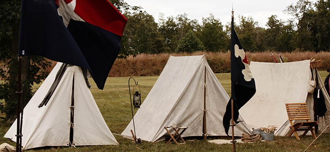Richmond National Battlefield Park preserves the site of Robert E. Lee's Seven Days Battle against George McClellan near the Confederate capital.