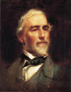 Confederate General Robert E. Lee.