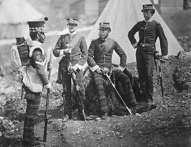 Photographer Roger Fenton's images of Crimean War scenes and soldiers are among the first war photography.