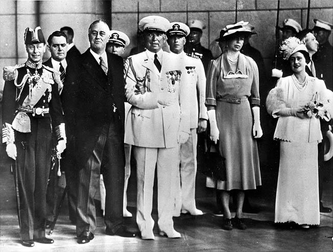 George VI visited the United States in the spring of 1939 as Britain prepared for war with Germany.