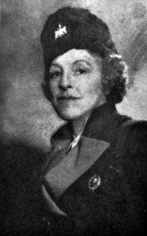 Aristocratic American journalist Ruth Mitchell, pictured here in a Chetnik uniform, witnessed the Nazi conquest of Yugoslavia. Mitchell actively participated in the political and armed unrest that followed.