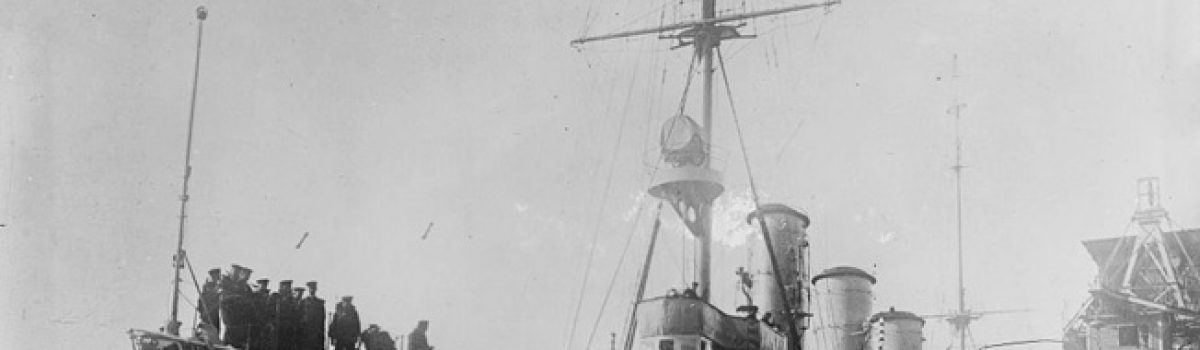The German Cruiser Konigsberg