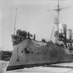 The German Cruiser Konigsberg