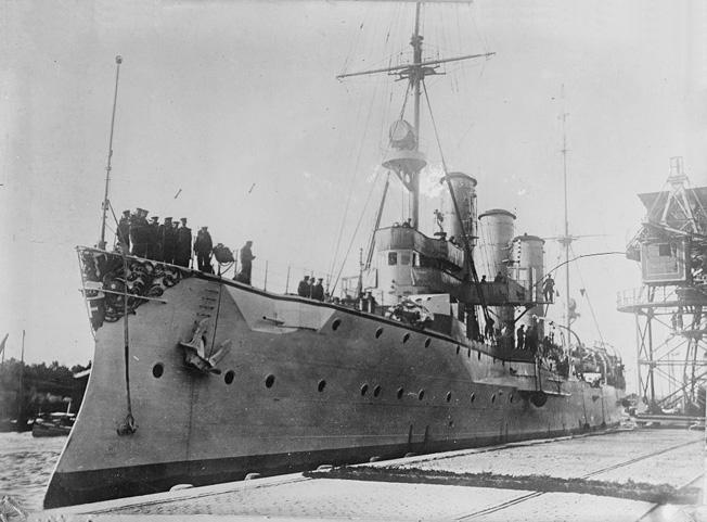 SMS_Königsberg_German_cruiser
