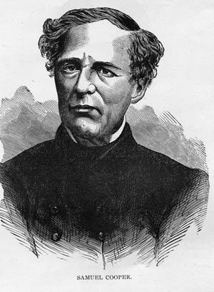 Former Confederate Inspector General Samuel Cooper.