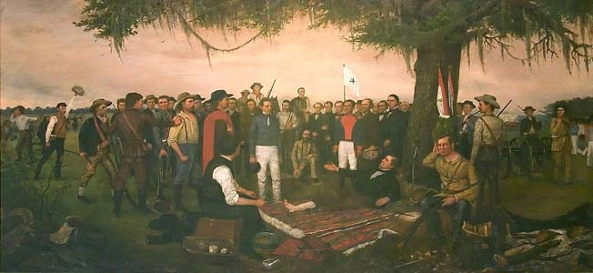 Vastly overshadowed by the Alamo, the outcome for Santa Anna's men at the Battle of San Jacinto made the Texas revolt as good as sealed.