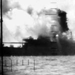 USS Seawolf at the Battle of Christmas Island