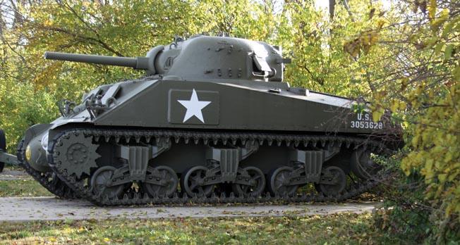 Sherman side