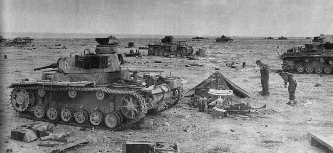 Crüwell's charge destroyed the South African Brigade after a fierce fight but it was ultimately self-defeating for the Afrika Korps, because it lost 72 panzers during the attacks—the highest one-day total of the entire Crusader campaign.