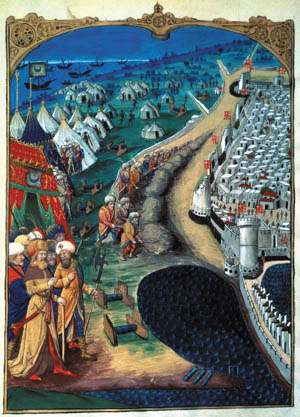 City's Knights Hospitallers prepared an unholy welcome for the Ottoman siege.