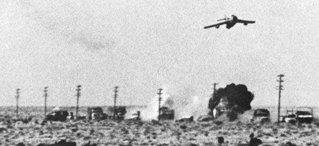 The Sinai Air Strike began with a routine flight—so routine that Egyptian radarmen barely took notice.
