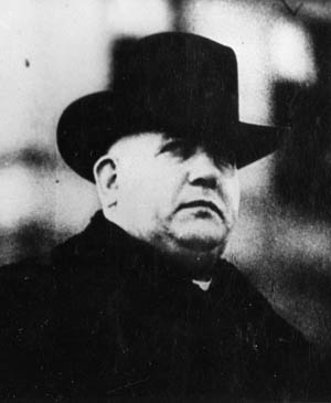 Father Josef Tiso led the Slovak  people into the embrace of Nazi Germany.