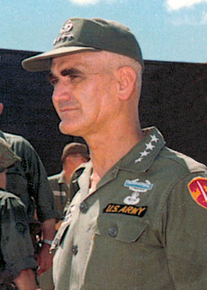 General William C. Westmoreland was a stalwart fighter and patriot through three separate wars.