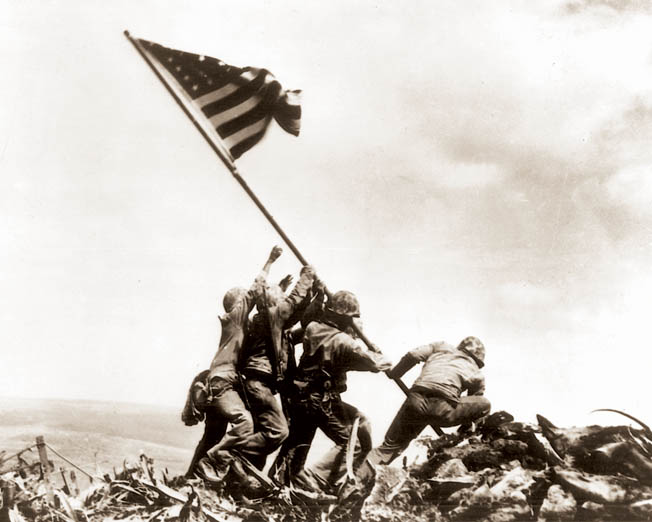 Young Franklin Sousley was an ordinary Marine caught up in an extraordinary moment on Iwo Jima.