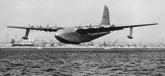 Image result for howard hughes flying the spruce goose