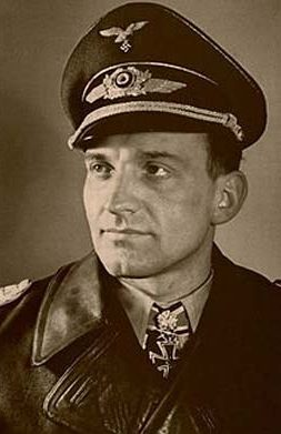 Colonel Hans-Ulrich Rudel became a legend flying the tank-busting Stuka.