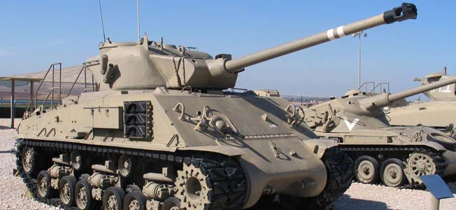 For the past few decades, the Israeli Defense Force has used British Centurions, M-47 Pattons and Super Sherman tanks for its military operations.