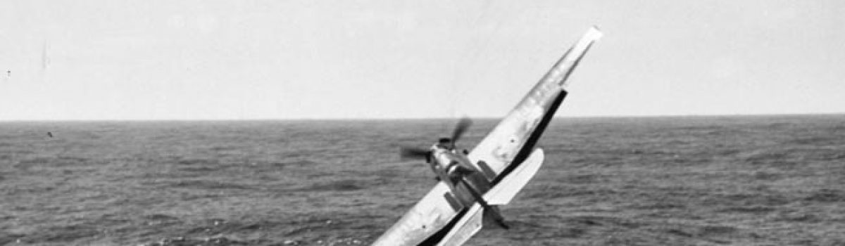 Amazing Photos of the Crash and Rescue of a Torpedo Bomber Off Leyte