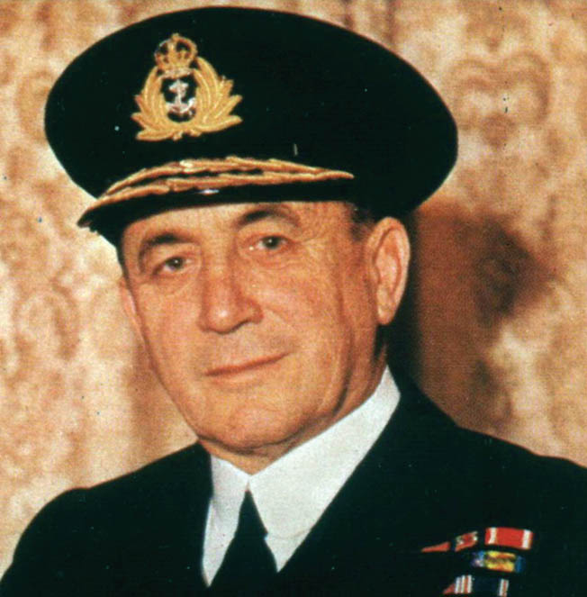 Royal Navy Admiral Sir Max Horton, a veteran of submarine action during World War I, led the fight against Nazi U-boats during the critical World War II Battle of the Atlantic.