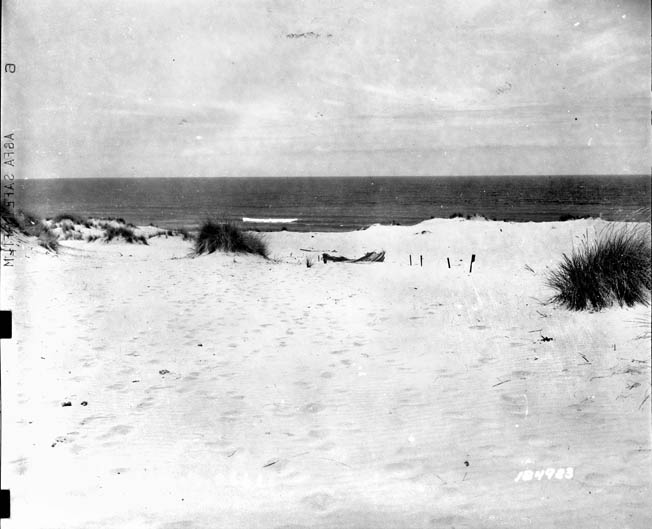 Blue Beach was the scene of the U.S. 1st Battalion, 66th Armored Regiment's landfall in North Africa. The unit's commander, Lt. Col. Harry H. Semmes, played a key role in subduing Vichy French resistance in the area with only a handful of M5 tanks that were able to land on the first day.