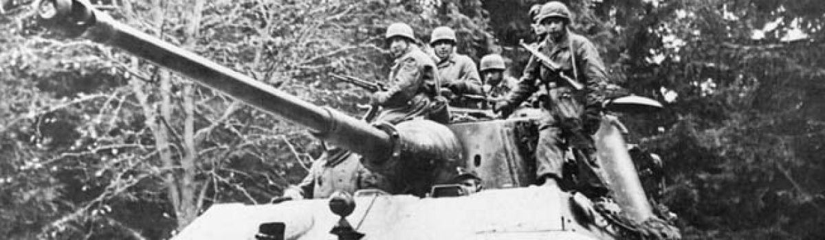Sherman Tanks, Tiger Tanks & The Battle of the Bulge