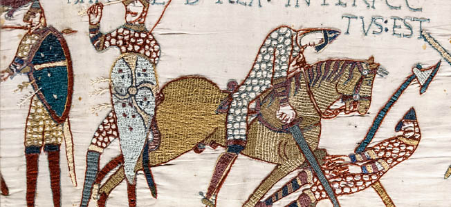 By 1135, there were probably five thousand medieval knights in England, but they differed little from their great-grandfathers who fought with William the Conqueror at Hastings.