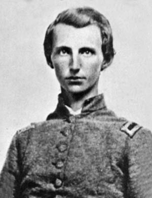 Fountains son, Captain Tod Carter, who died in the battle.