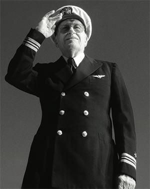 Lt. Commander Ted Reinhardt, U.S. Navy (Ret.)