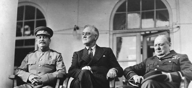 The Big Three In Tehran The Meeting That Shaped Wwii