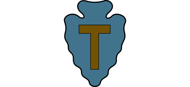 The 'T' In the 36th Infantry 'Texas' Division also stood for 'tough'.