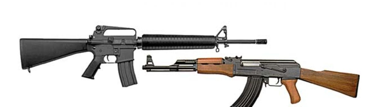 The AK-47 vs. the M16 Rifle During the Vietnam War