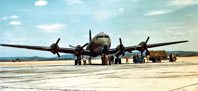 The Air Transport Command (ATC) began life ferrying aircraft to Europe during Lend Lease and eventually opened up air routes over most of the globe.