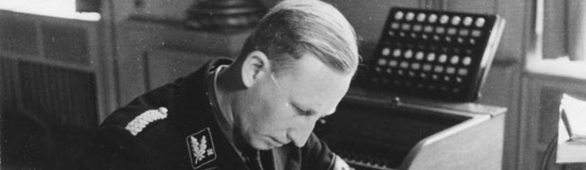 The Assassination Of Reinhard Heydrich, The Butcher Of Prague